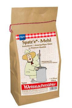"""Spatz'e-Mehl*"" - Dinkeldunst - 750g"