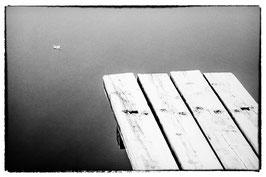 Blatt auf dem Wasser