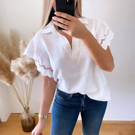 BLUSE SIA ♡ - WEISS