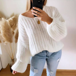 PULLOVER PAOLA ♡ - WEISS