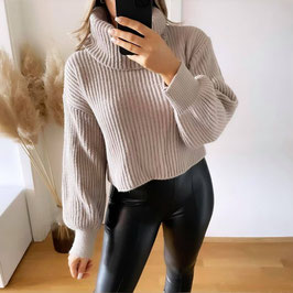 PULLOVER ELSA ♡ - TAUPE