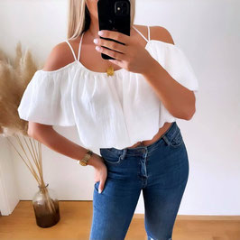 BLUSE AMBRA ♡ - WEISS