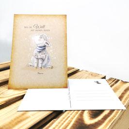Postkarte - Sieh die Welt mit meinen Augen - Nimitas