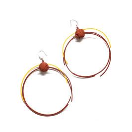 Open 3Hoops Earrings
