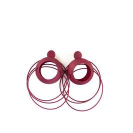 Lolita hoop earrings