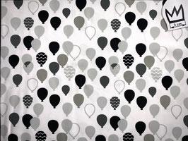 Jersey Ballon schwarz-grau