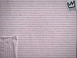Jersey rosa-weiss-gestreift