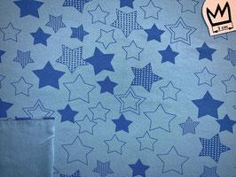 Jersey Sterne gross blau