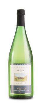 1 Liter Pfandflasche - 2017, Riesling halbtrocken (Horrheimer Klosterberg)