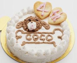 犬お祝いケーキ うまうまcake