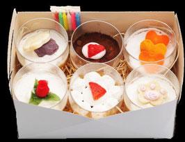 犬用ケーキ GIFT BOX カップケーキ6個入り