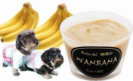 バナナシャーベット.犬用
