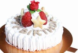 ◆犬用ミニケーキ,スターツリー,3号サイズ