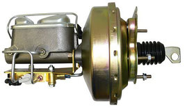 "Mastervac 9""complet avec maître-cylindre et repartiteur - 67-70 Mustang 9"" Power Brake Booster with Proportioning Valve"