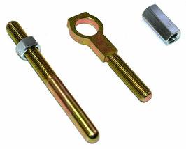 Push rod ajustable pour frein non-assisté - 1964-73 Universal Ford Manual Master Cylinder Rod Kit