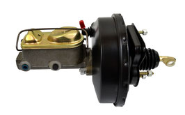 "Mastervac 9"" complet avec maître-cylindre- 67-70 Mustang Power Brake Booster"