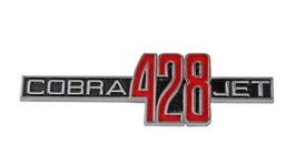 Emblème 428 Cobra Jet - COBRA-JET-428 fender emblem