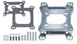 Kit d'adaptation pour carburateur sur collecteur d'admission - 2bbl to 4bbl or 4bbl to 2bbl Carb Adapter Kit