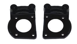 Support d'étriers de frein à disque avant - 64-67 Mustang Caliper Brackets Kit
