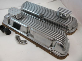 Cache-culbuteurs Ford Small Block en aluminium - Mustang Small Block Valve Cover
