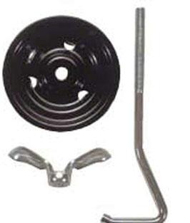 Système de retenue de roue de secours