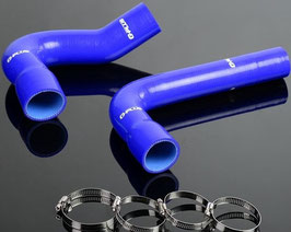Kit durite radiateur d'eau en silicone bleu