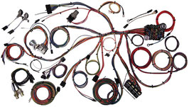 Faisceau electrique complet AMERICAN AUTOWIRE- 1967-68 Ford Mustang Wiring Harness