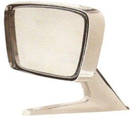 Rétroviseur extérieur droit chromé Mustang 67-68