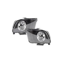 Phare halogene avant Ford Mustang   GT / V6  05-09