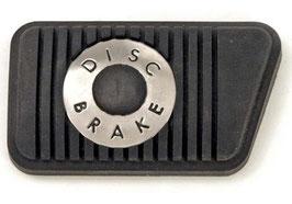 Patin de pédale de frein à disques boite manuelle - Mustang Disc Brake Pedal Pad Manual Transmission