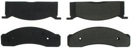 Plaquettes de frein avant - 68-73 Mustang Brake Pads
