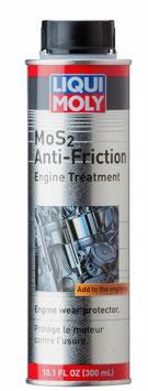 Additif anti friction MoS2 pour huile moteur 300ml