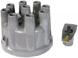 Kit chapeau + doigt d'allumage haute performance Distributor cap + rotor