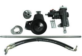 Kit de conversion de direction BORGESON - Borgeson 999020 Power Steering Conversion Kit Fits 65-66 Mustang
