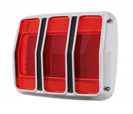 Kit complet de feu arrière à LED - 1965-1966 Mustang LED Tail Lights pair complete kit with Bezels Housings