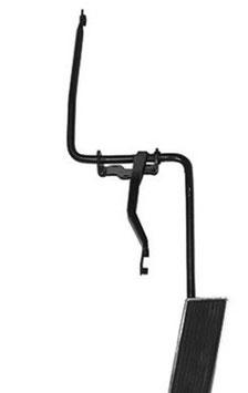 Pédale complète d'accélerateur - 64-68 Mustang Gas Throttle Linkage Bracket Assembly with Pedal