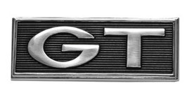 Emblème GT - GT  fender emblem