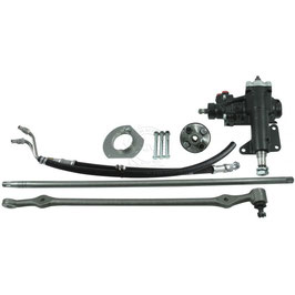 Kit de conversion de direction BORGESON - BORGESON 999023 Power Assist to Power Steering Conversion Kit for 65-66 Ford Mustang