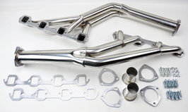 Collecteur d'échappement Small Block TRI-Y  - 64-70 Ford Mustang 260/289/302 Tri-Y Racing Stainless Exhaust Manifold Header