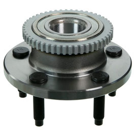 Moyeu / Roulement de roue avant avec ABS - 05-14 Mustang Wheel Bearing & Hub Assembly