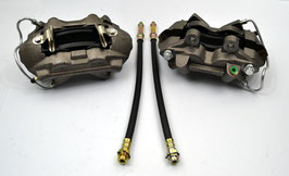 Set de 2 étriers de frein a disque 4 pistons - 64-66 Front Disc Brake 4 Pistons Calipers