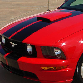 Prise d'air capot Ford Mustang GT V8 05-09 . 05-09 Mustang GT V8 hood scoop