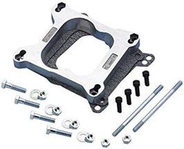 Kit d'adaptation pour carburateur QUADRA-JET sur collecteur d'admission - QUADRA-JET carburetor adapter kit