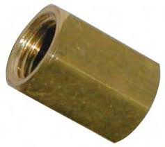 "Raccord de jonction de frein 3/8""-24 tube de 3/16"" - 3/8""-24 heavy duty brass union"