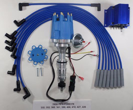 Kit d'allumage électronique HEI  Big Block - 58-76 BIG BLOCK FORD  HEI Distributor + Coil + Spark Plug Wires