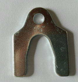 Cales d'épaisseur pour reglage du carrossage ( SHIMS )