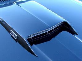 Prise d'air capot type BOSS / MACH 1 Mustang 69-70 - 69-70 BOSS / MACH 1 hood scoop bolt on