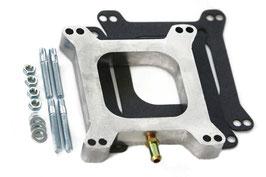 """Spacer aluminium 1"""" carburateur 4 corps"""