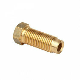 "Raccord de frein 3/8""-24 tube de frein de 3/16""- 3/8""-24 long tube nut"