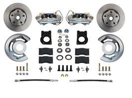 Kit de conversion de frein à disque avant - 64-69 / 70-73 Disc Brake Conversion Kit Ford Mustang